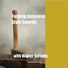 Forging Japanese Style Blades (2 DVDs) /Japanese swords/tanto/wakizashi/katana