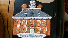 Colonial Williamsburg Wool Governor's Palace Hanging Ornament RETIRED Rare NEW