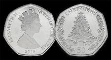 Problema de Gibraltar 50p 2016 moneda de Navidad Nuevo Post Gratis