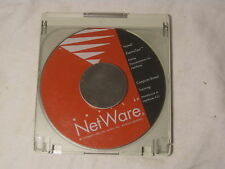 Novell NetWare CD disc only w/ Caddy disc holder ElectroText