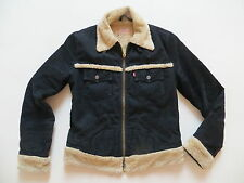 Levi's ® Cord Jacke Cordjacke Gr. L, schwarz ! warm gefüttert mit Teddy Fell !