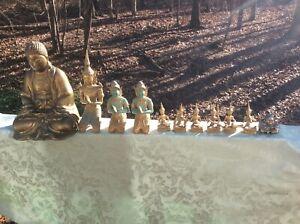Chinese Brass Buddhas