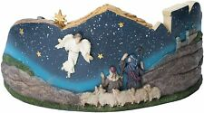 Deluxe Panorama Nativity Scene 14 Inch Resin Christmas - Three Kings Gifts