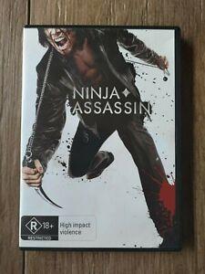 Ninja Assassin (DVD, 2010) X-Rental Region 4