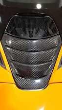 Carbon fiber fibre rear engine cover panel fit for Mclaren 2017 720S Coupe