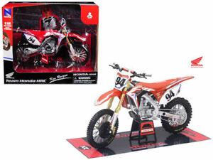 New Ray 1/12 Ken Roczen #94 HRC Honda CRF 450 Die Cast Toy Model Motocross AMA