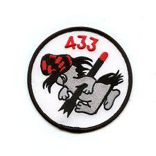 RCAF CAF Canadian 433 Squadron Armament English Colour Crest Patch
