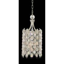 Allegri Prive 3 Light Pendant, 2-Tone Silver, Firenze Clear - 028751-017-FR001