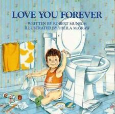 LOVE YOU FOREVER paperbach book by Robert Munsch FREE SHIPPING i i'll