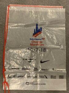 Chicago Marathon 2018 Clear Drawstring Bag