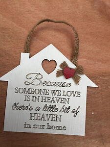 1 x HEAVEN IN OUR HOME POEM