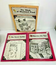 3 TCM Literature Units Secret Garden, Harriet the Spy, Witch of Blackbird Pond