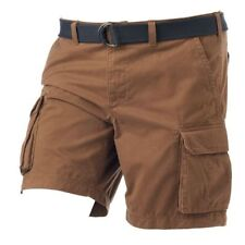 SONOMA Size 46 Safari Trail Brown Classic-Fit Twill Cargo Shorts 100% Cotton New
