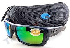Costa RFL111OGMP Rafael Sunglasses Green Mirror Lens Black Teak Frame 580P