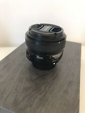 Yongnuo 35mm f2.0 for Nikon