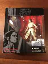 "Star Wars Force Awakens Black Series 6"" REY (STARKILLER BASE) Kmart Exc flawed"