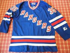 Starter  NHL NY RANGERS Jersey . Mike Richter #35. Size Medium. Made in Korea