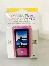 "Ematic 1.5"" MP3 Video Player, Pink EM208VIDPN Brand New"