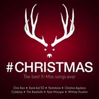 CHRISTMAS: THE BEST X-MAS SONGS EVER- CHRIS REA, COLDPLAY, PENTATONIX  2 CD NEU