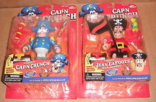 Classic Cap'n Crunch & Pirate Jean LaFoote Figure Set/Lot New