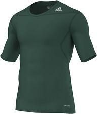 adidas Techfit Base Shortsleeve grün (D82095) XS - XXXL