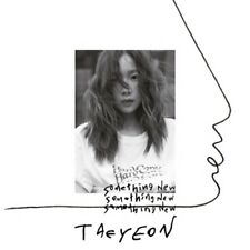 Taeyeon-[Something New]3rd Mini Album CD+Poster+Booklet+PhotoCard+Store Gift