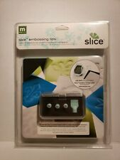 Slice making memories slice embossing tips new