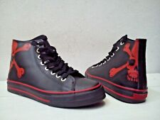 SHOES SNEAKERS UNDERGROUND ENGLAND RED SKULL LEATHER EU 41 (converse all star?