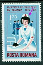 1976 Red Cross,Nurse,Rotes Kreuz,Croix Rouge,Romania,Mi.3337,Error,MNH