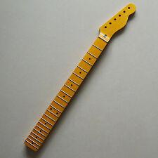 One-piece Canadian Maple Fender TELE Guitar Neck 21 Frets Vintage Satin Finish