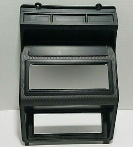80-86 Ford Bronco Truck Radio Climate Control Bezel Gray F100 150 250 350 Pickup