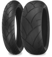 Shinko 005 Advance Motorcycle Tires Set 120/70ZR17, 180/55ZR17