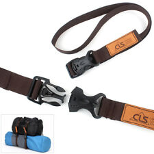 AU_ Nylon Pack Cam Tie Down Strap Lash Travel Luggage Bag Belt Release Buckle Ey