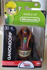 World Of Nintendo Legend Of Zelda Ganondorf Figure NEW
