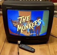 """RCA Curved Tube 19"""" Color Retro Classic Vintage Gaming CRT TV Television N64 20"""