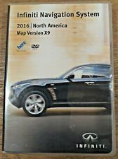 Infiniti Navigation System 2016 North American Map Version X9 Discs (5)