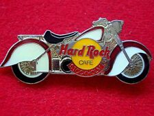HRC Hard Rock Cafe Stockholm Red White Indian Motorcycle LE1000