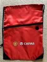Manchester United  Chivas Gym Sack Bag Drawstring Backpack Cinch Bag Authentic