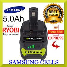 to fit RYOBI  ONE+ 18V  5.0 Ah Lithium Battery (RB18L50) + WARRANTY