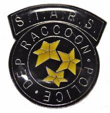 Resident Evil S.T.A.R.S. Raccoon Police Black Logo PIN