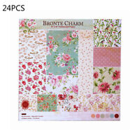 24X Scrapbooking Paper Handmade Album Background Craft Card Making DIY Photo