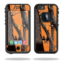 Skin Decal Wrap for Lifeproof iPhone 6/6S Case fre  Orange Camo