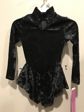 1 Nwts Childs 4-6 Long Sleeve Gilda Marx Velvet Dance Dress Awesome Looking