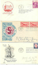C.R LOTE SOBRE FIRST DAY OF ISSUE REGULAR POSTAGE SERIES OF 1954