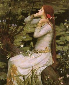 Print - Ophelia -by John William Waterhouse 1894