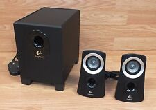 Genuine Logitech (Z313) Black Wired Speaker System With Subwoofer (S-00093)