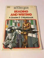 1983 Star Wars ROTJ Reading and Writing A Grades 2-3 Workbook UNUSED! RARE!