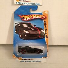 '08 Viper SRT10 ACR #22 * BLACK * 2010 Hot Wheels * YB9