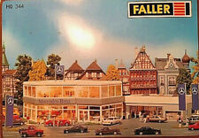 FALLER HO 344 NEW 1:87 Mercedes Benz Dealership Showroom & Autohaus