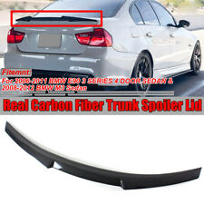 Carbon Fiber Trunk Spoiler M4 Style For BMW E90 3 Series 335i 328i M3 Sedan